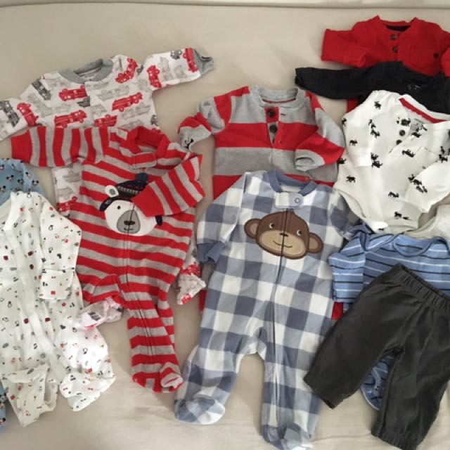 Carters Baby Boy Clothes (3 Months)