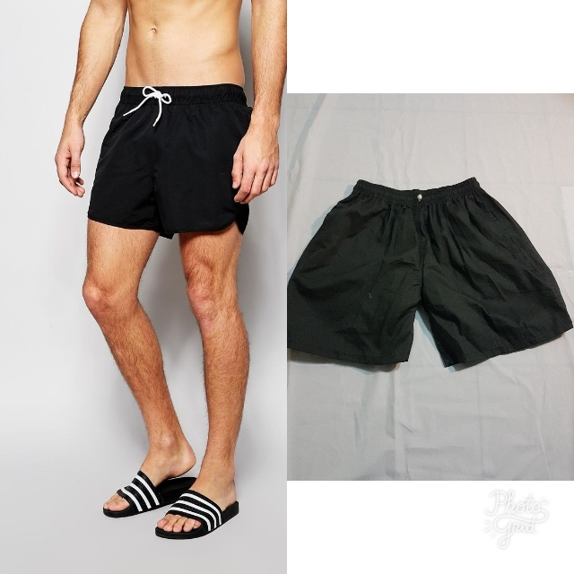 Celana Shorts Hitam Casual