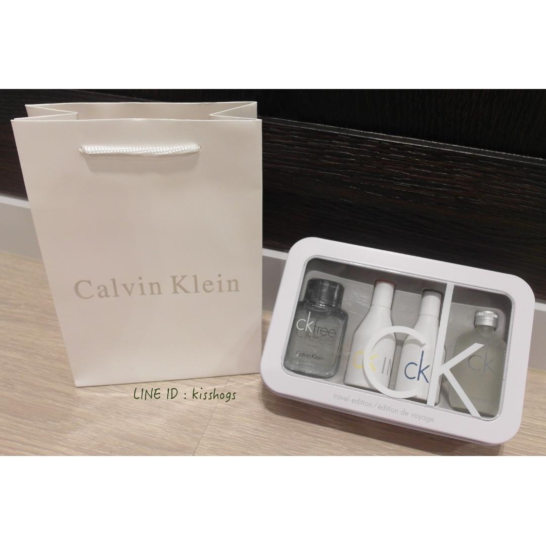 CK 中性鐵盒香水組