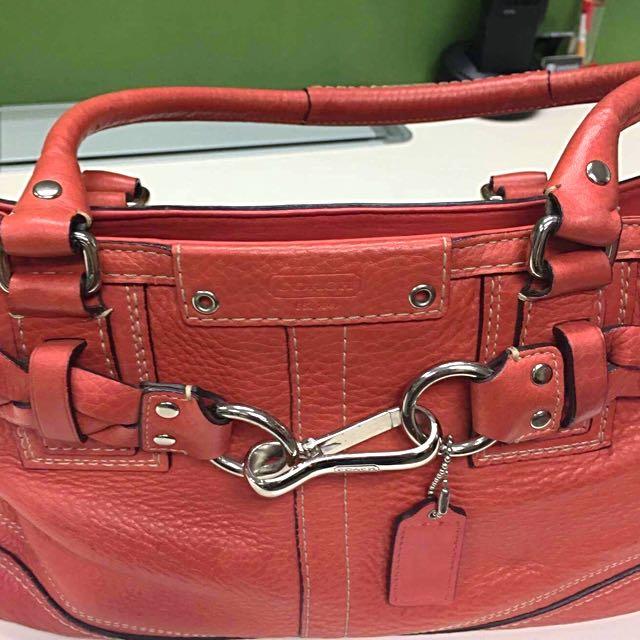 Coach bag + free sf