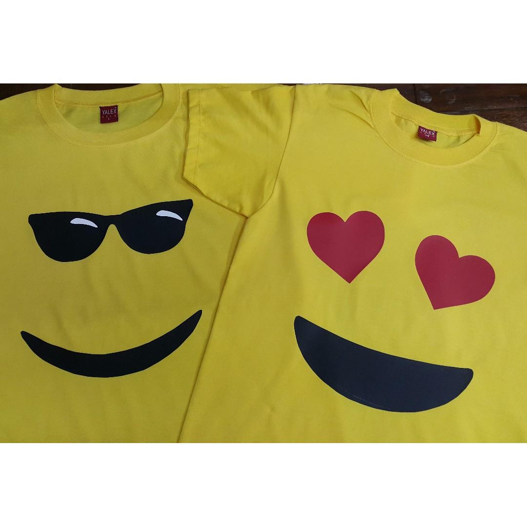 Couple Emoji Shirt