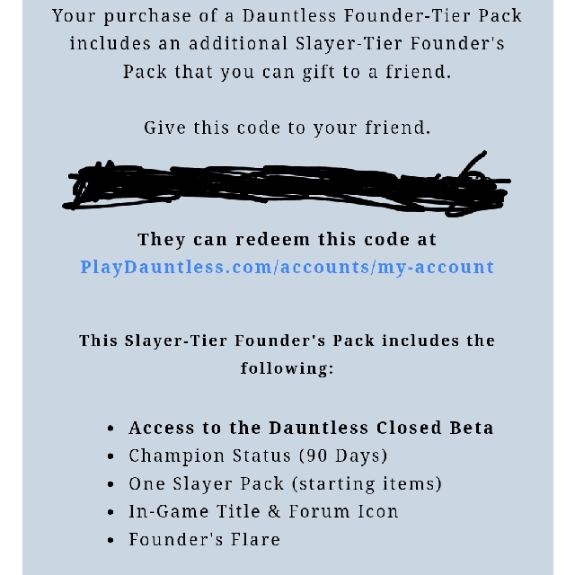 Dauntless (Slayer Pack Worth USD39 99), Toys & Games, Video