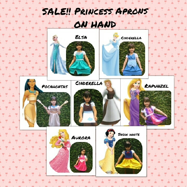 Disney Princess Aprons costume