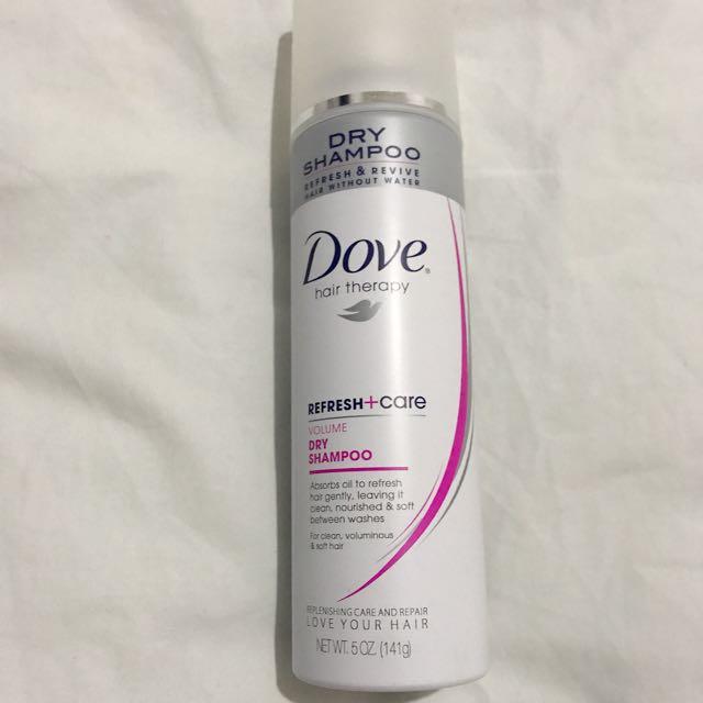 Dove Dry Shampoo (sprayed once)