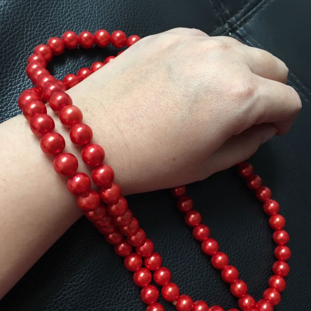 Elegant Red Pearl
