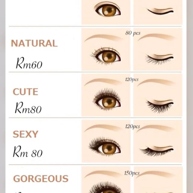 Eyelash Extension Home Service Health Beauty Makeup On Carousell