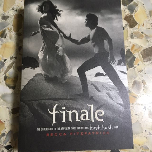Finale Book 4 Of Hush Hush Books Stationery Fiction On