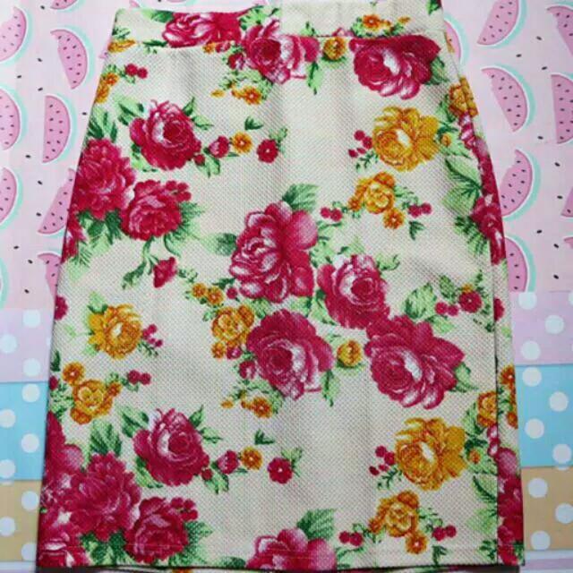 Flower Skirt murah