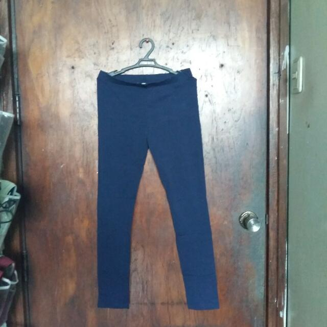 Forever 21 Blue Leggings