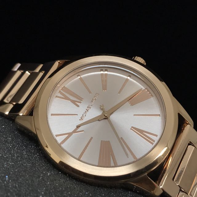 51a869076ab5 FREE DELIVERY  MICHAEL KORS HARTMAN ROSE GOLD LADIES WATCH MK3491 ...