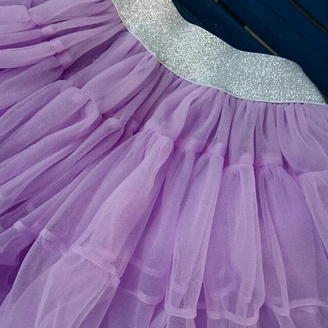 Girls Balloon / Pompom Skirt