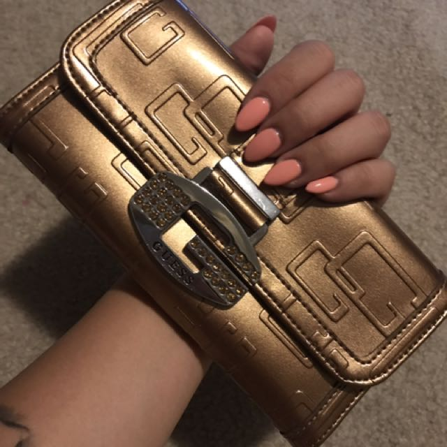 Guess Brand Brown Wallet