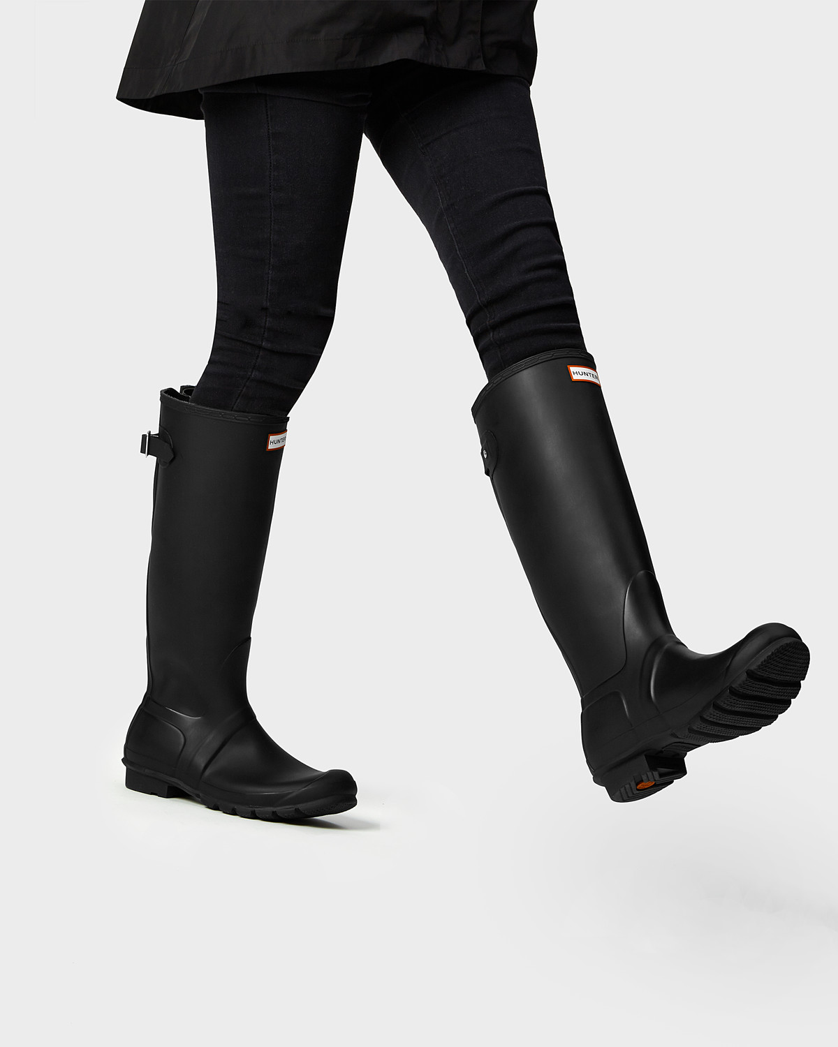 HUNTER: Women's Original Back Adjustable Rain Boots