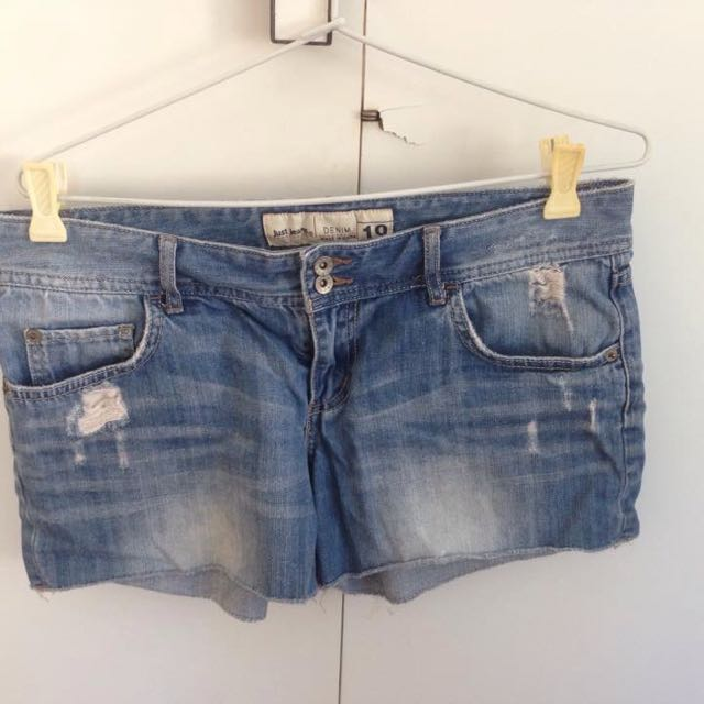 401c24291a Just Jeans Denim Shorts, Women's Fashion, Clothes on Carousell