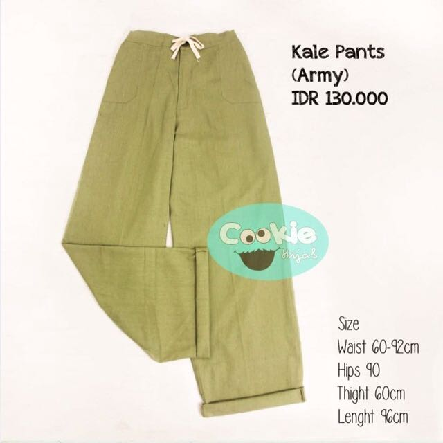 Kale Cullotes Army Pants