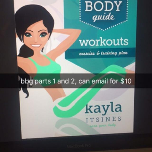 kayla itsines bikini body guide parts 1 and 2