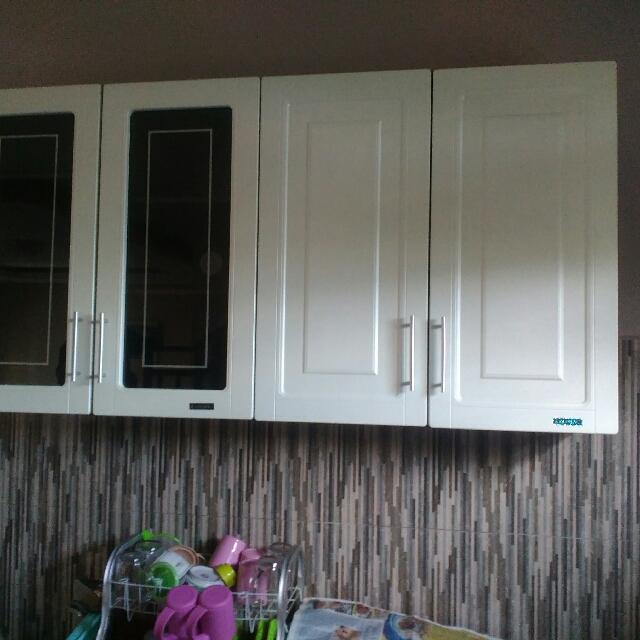 Kitchen Set 2 Pintu Atas Olympic Mutiara Series Perabotan Rumah Di Carousell
