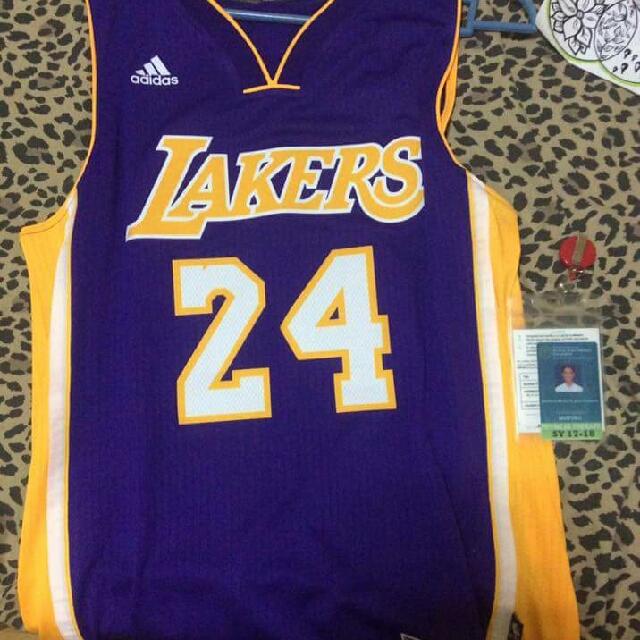 Kobe Bryant Purple Lakers Jersey