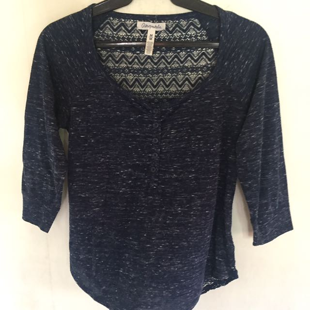 Aeropostale (Lace Back Blouse)