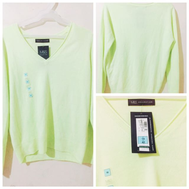 Lemonade Wool Type Long Sleeves