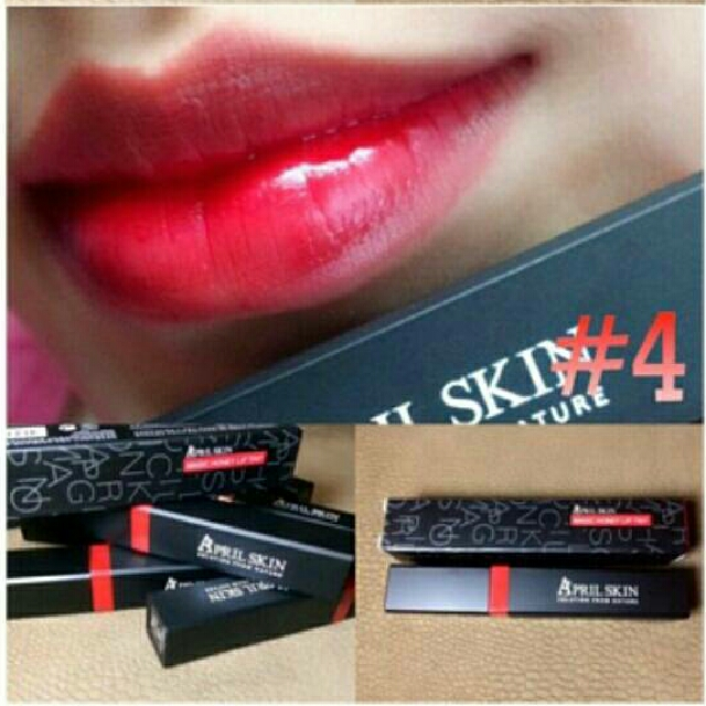 Lip Tint By April Skin Shades#4