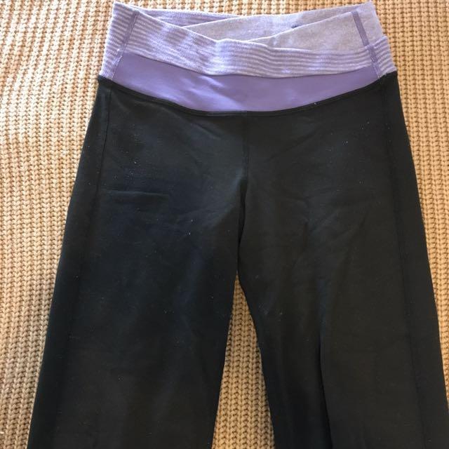LULULEMON Women's Yoga Pants Size 2 Or XS