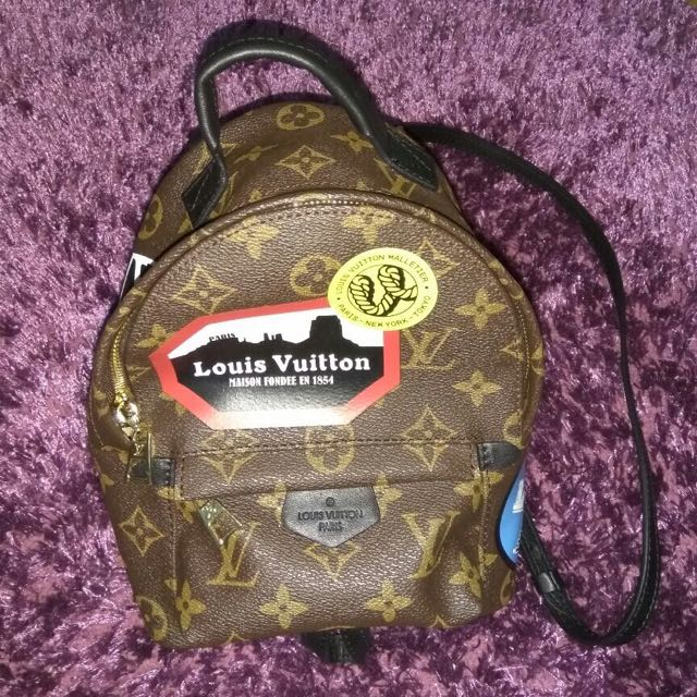 LV monogram travel