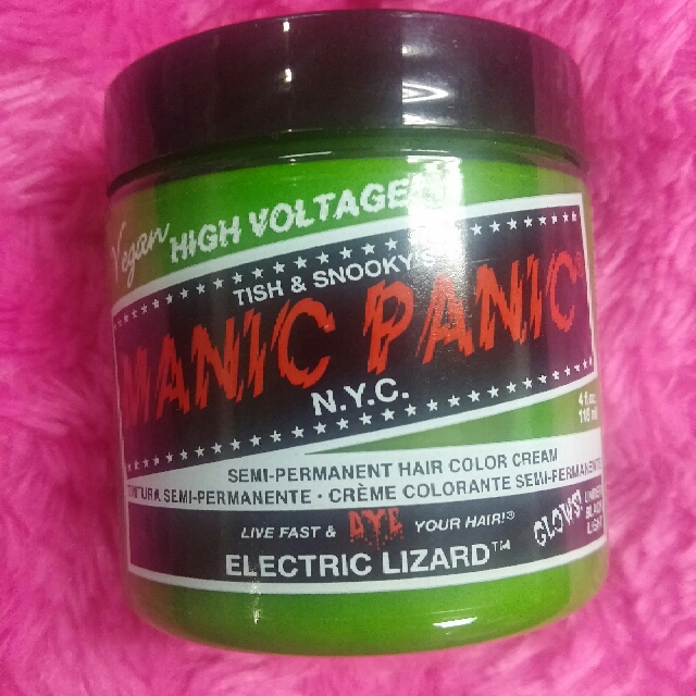 Manic Panic Hair Color Electric Lizard Repriced Buy 1 Take 1