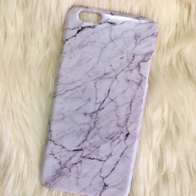 Marble Case For iPhone 6S Plus (White)