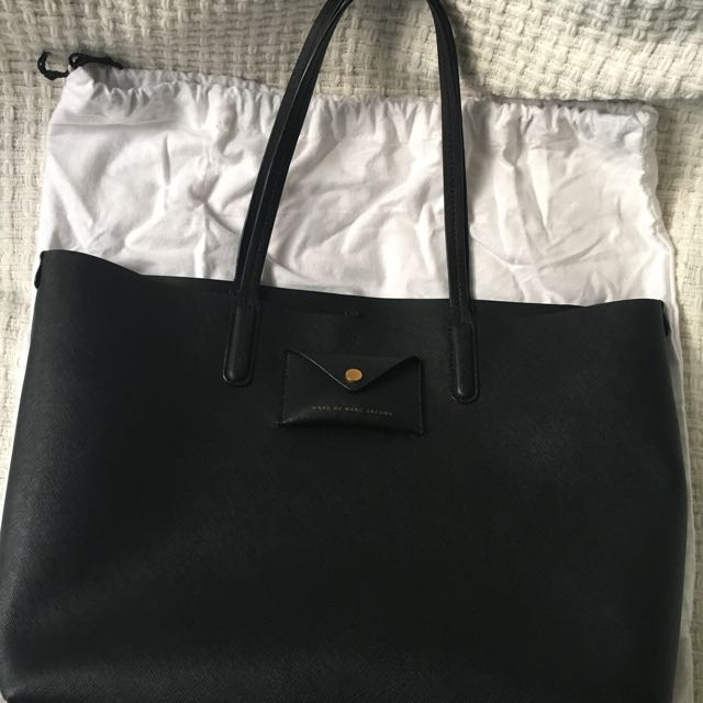 Authentic Marc By Marc Jacobs Metropolitote Black Tote