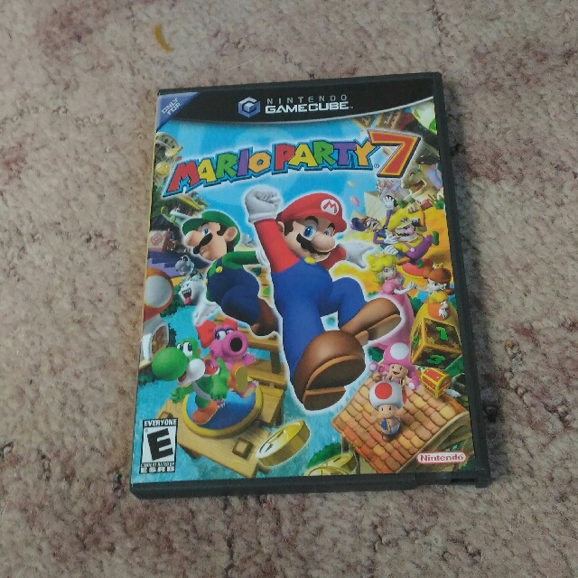 Mario Party 7 GameCube Game, Toys & Games on Carousell