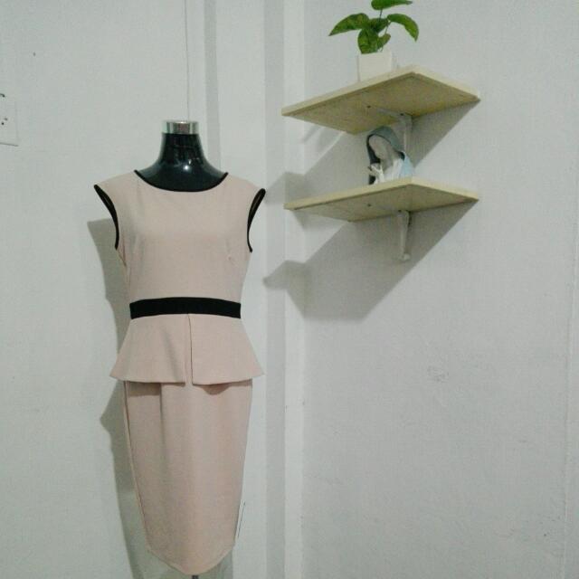 Marks & Spencer Peplum Dress