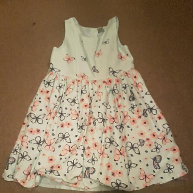 Mint Butterfly Dress