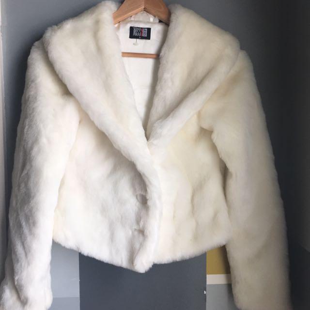 Miss Shop Fur Coat 8-10