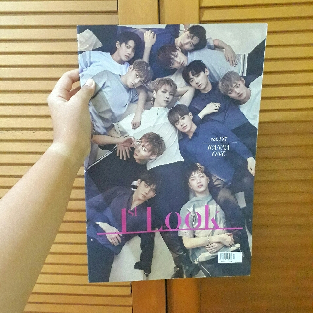 [NEW] 1st Look Wanna One Magazine