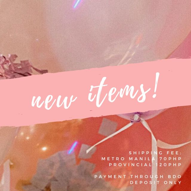 NEW ITEMS 💖