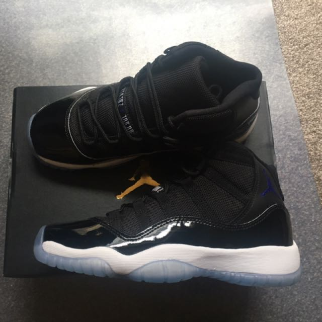 NEW Nike Air Jordan 11 Space Jam 4Y