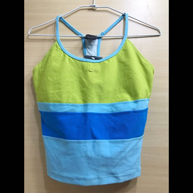 Nike Womens 慢跑/瑜伽挖背背心 M號