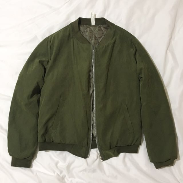 Olive/Army Green Bomber Jacket