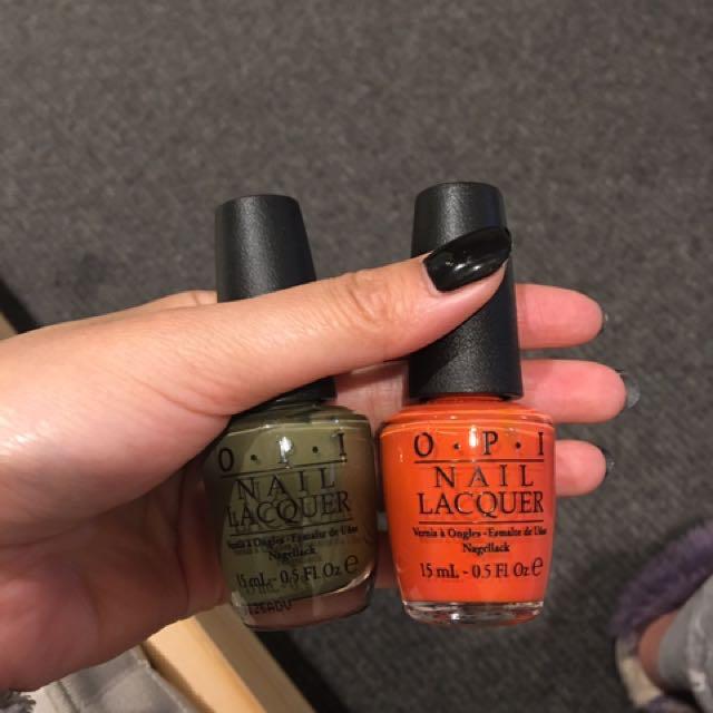 OPI➕anna sui nail polish