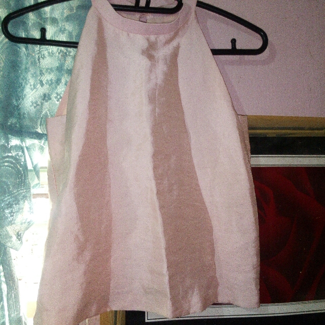 Pink Halter Blouse