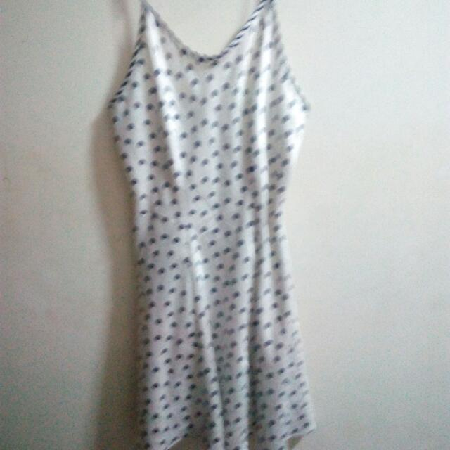 Polka Dots Spaghetti Strap Dress