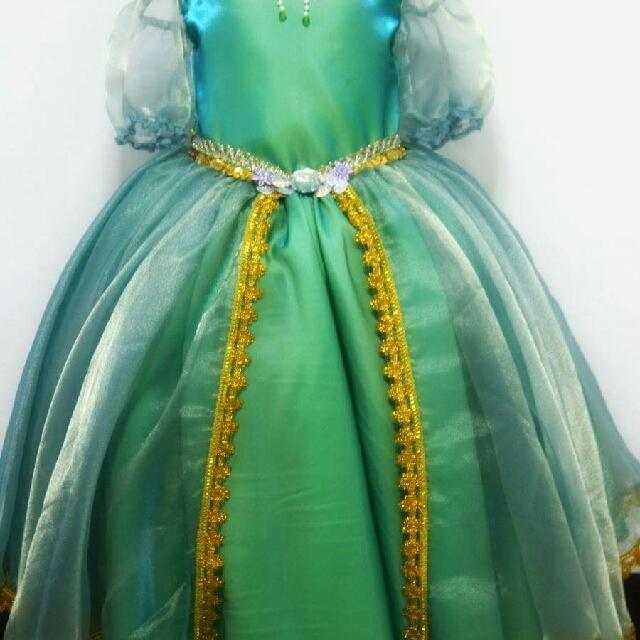Princess ARIEL Ball Gown - Little Mermaid, Babies & Kids, Girls ...