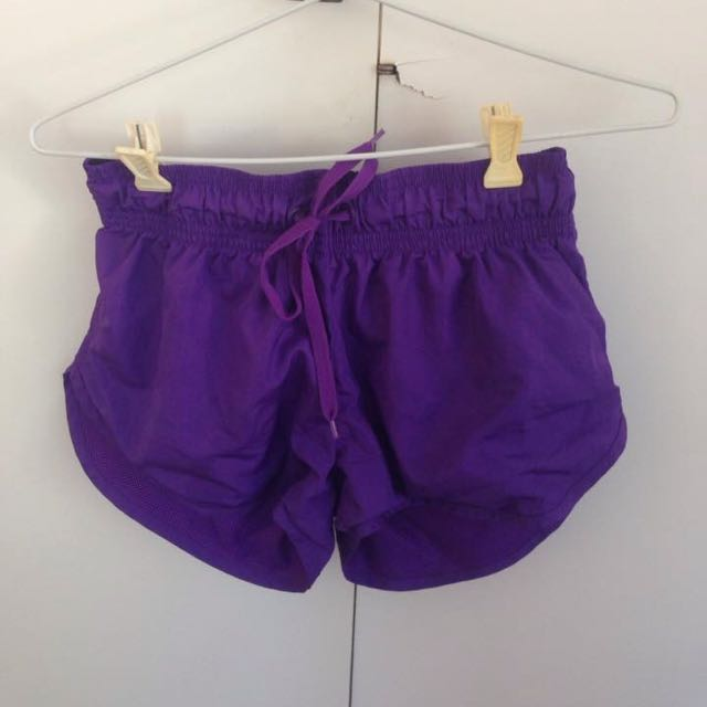 Purple Work Out Pants / Board Shorts