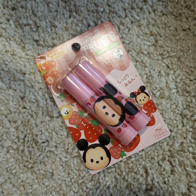 Rohto Japan Disney Tsum Tsum Lip Balm