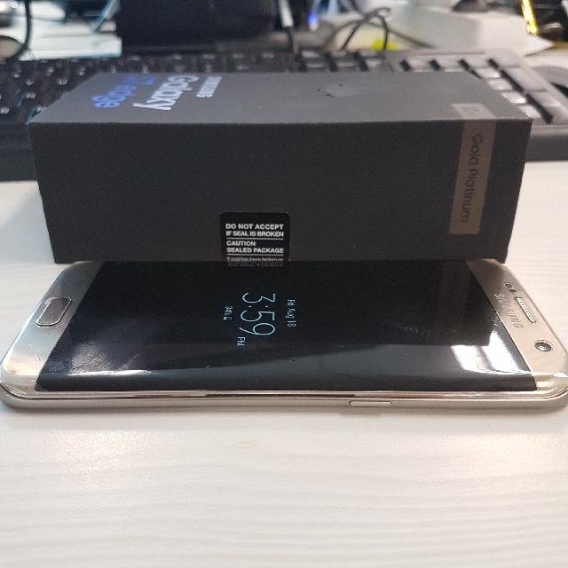 Samsung S7 Edge Fullset SEIN 2018 Mulusss