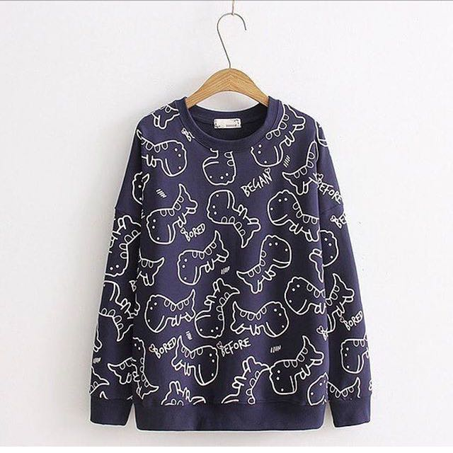 Si.bored Sweater Navy