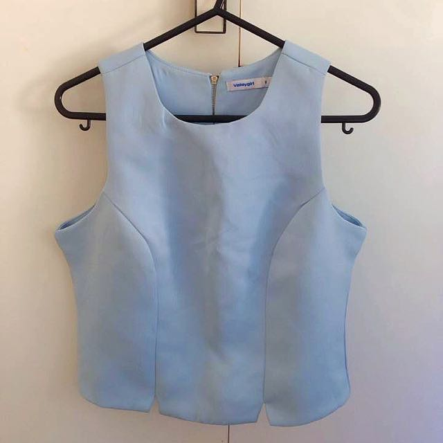 Size 8 Blue Valley Shirt