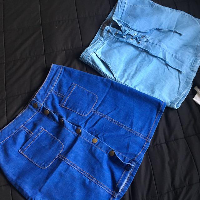 Skirts $10 each