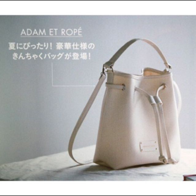 日本雜誌spring贈送包 束口 水桶